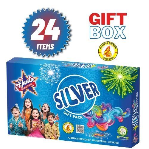 Silver gift box from ajanta